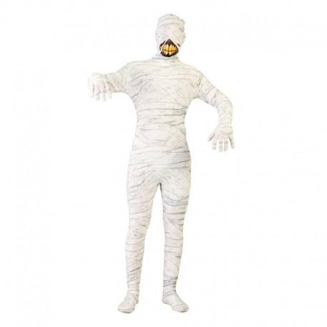 Disfraz de momia blanca para adulto