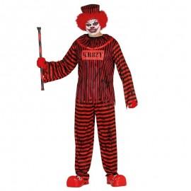 Disfraz de preso asesino para adulto