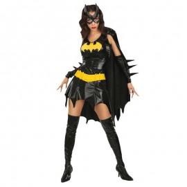 Disfraz de Batgirl de lujo para adulto