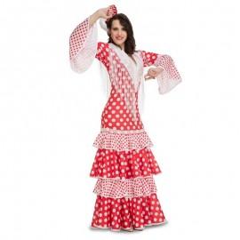 Disfraz de flamenca Rocio para adulto