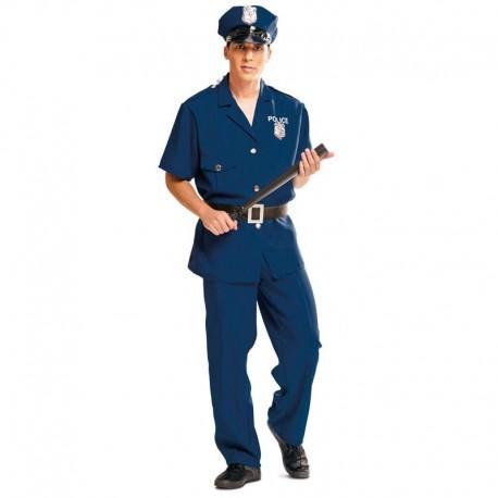 Disfraz de policia municipal para adulto