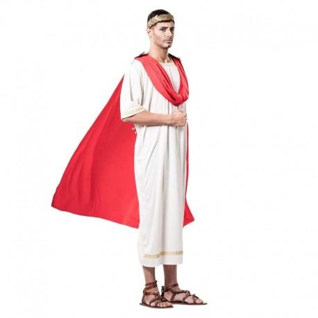 Disfraz de griego con capa para adulto