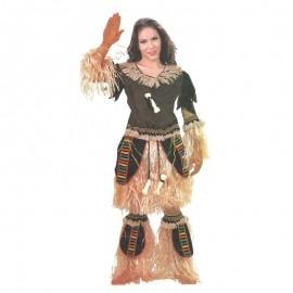 Disfraz de africana chica