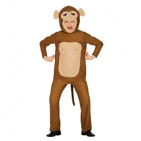 Disfraz de mono cabezon para adulto