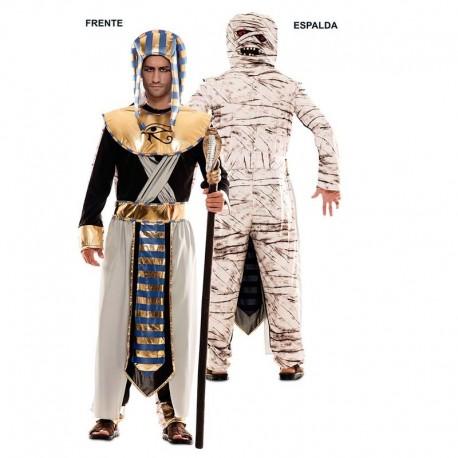 Disfraz double fun momia-egipcio XL