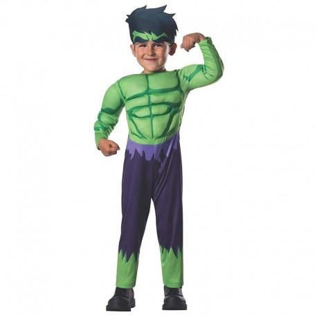 Disfraz de Hulk 2-4 años
