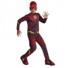 Disfraz de Flash Justice League 8-10 años