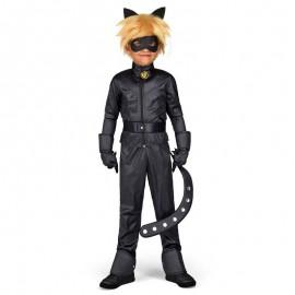 Disfraz de Cat Noir de lujo en caja 12-14 años