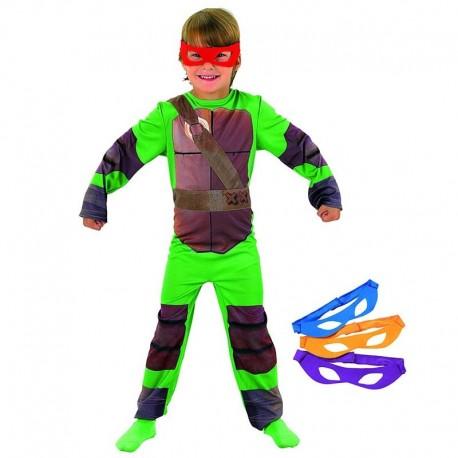 Disfraz de Tortuga Ninja 7-8 años