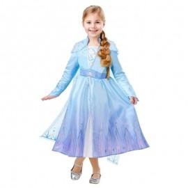 Disfraz de Elsa II Lujo 5-6 años