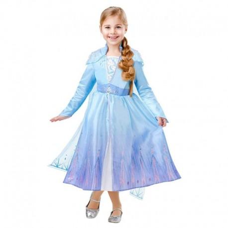 Disfraz de Elsa II Lujo 9-10 años