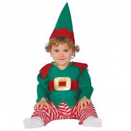 Disfraz de elfo 6-12 meses