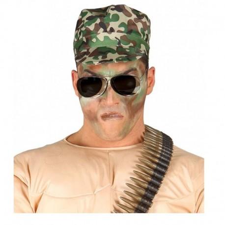 Gorra de militar camuflaje