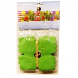Guirnalda cucos verde