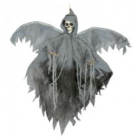 Colgante de esqueleto con alas