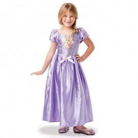 Disfraz de Rapunzel Sequin 5-6 años