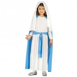 Disfraz de virgen 5-6 años