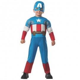 Disfraz de Capitan America ™ 2-4 años
