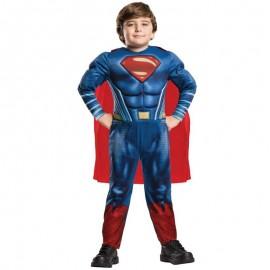 Disfraz de Superman™ musculoso 5-6 años