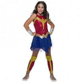 Disfraz de Wonder Woman™ lujo 8-10 años
