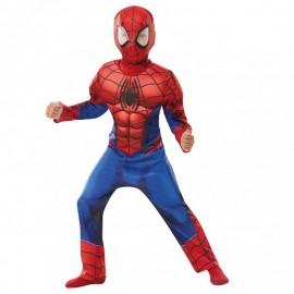 Disfraz de Spiderman musculos 7-8 años