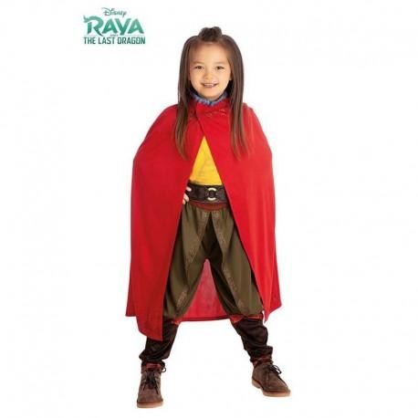 Disfraz de Raya con capa 5-6 años