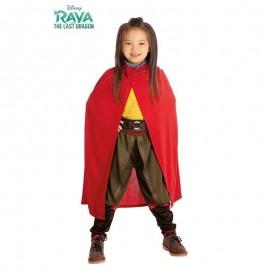Disfraz de Raya con capa 3-4 años