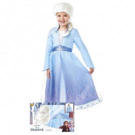 Disfraz de Elsa Frozen II™ con peluca 7-8 años