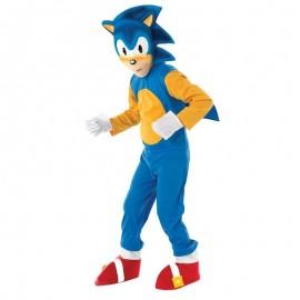 Disfraz de Sonic 7-8 años