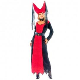 Disfraz de dama maligna