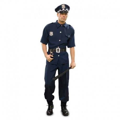 Disfraz de policia urbano manga corta