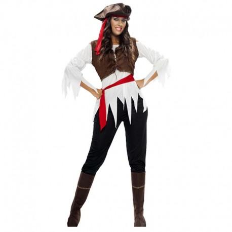 Disfraz de piratesa pantalon