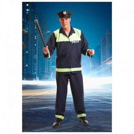 Disfraz de policia local para adulto