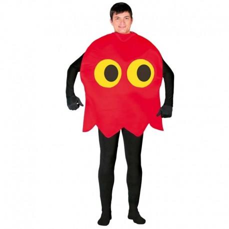 Disfraz de fantasma Pac-Man para adulto