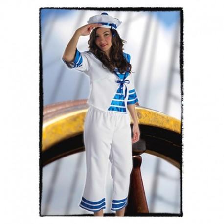 Disfraz de marinera grumete para adulto