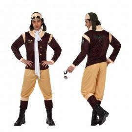Disfraz de aviador de epoca