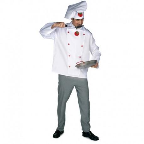 Disfraz de cocinero para adulto
