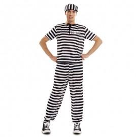 Disfraz de preso XXL para adulto