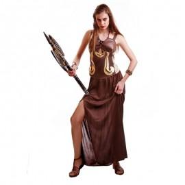 Disfraz de guerrera romana para adulto
