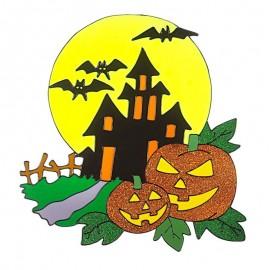 Sticker grande halloween
