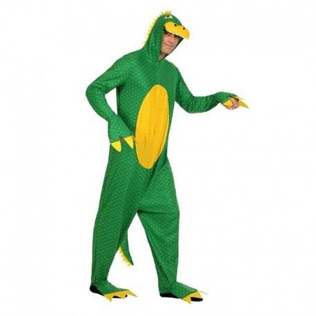 Disfraz de dragon verde