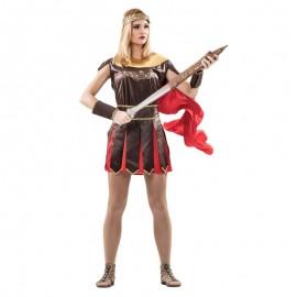 Disfraz de romana gladiadora para adulto