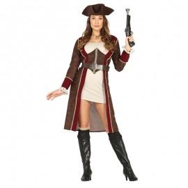 Disfraz de piratesa sexy para adulto