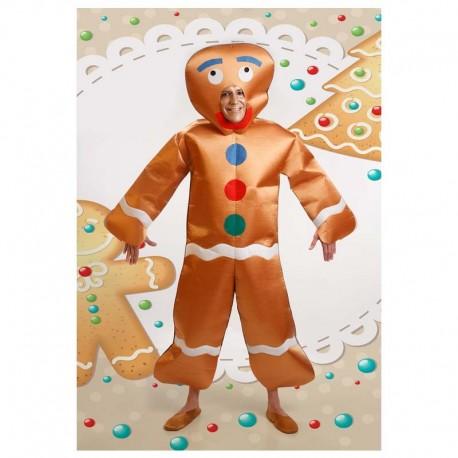 Disfraz de galleta de jengibre