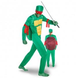 Disfraz de tortuga ninja para adulto