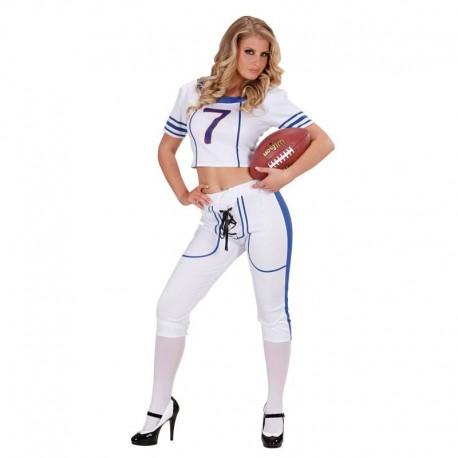 Disfraz de rugby chica