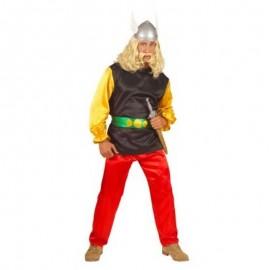 Disfraz de Asterix lujo para adulto