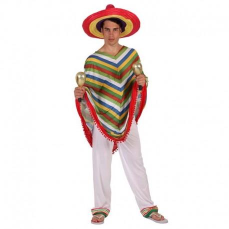 Disfraz de mejicano blanco