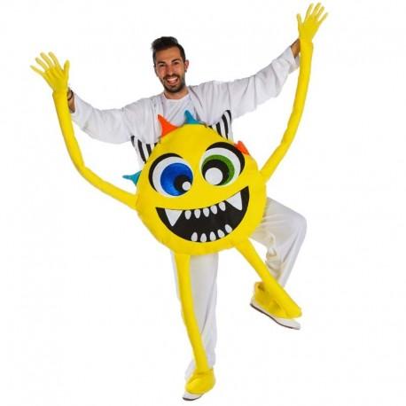 Disfraz de monstruo amarillo
