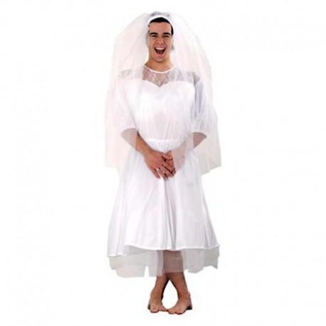 Disfraz de novia XL